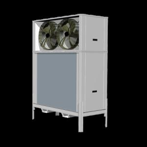 Evaporador para túnel
