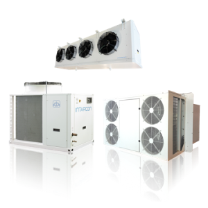 Industrial packaged refrigeration units