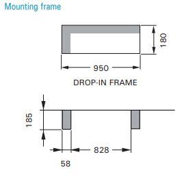 Mounting frame door intarblock 2021