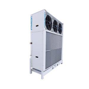Evaporador vertical para túneles