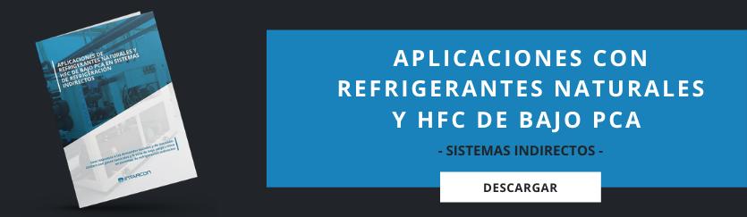 aplicaciones con refrigerantes naturales y HFC de bajo PCA
