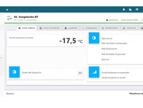 Sistema de monitorización y control kiconex INTARCON