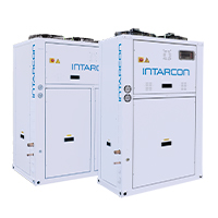 Compact air cooled dx plants INTARCON
